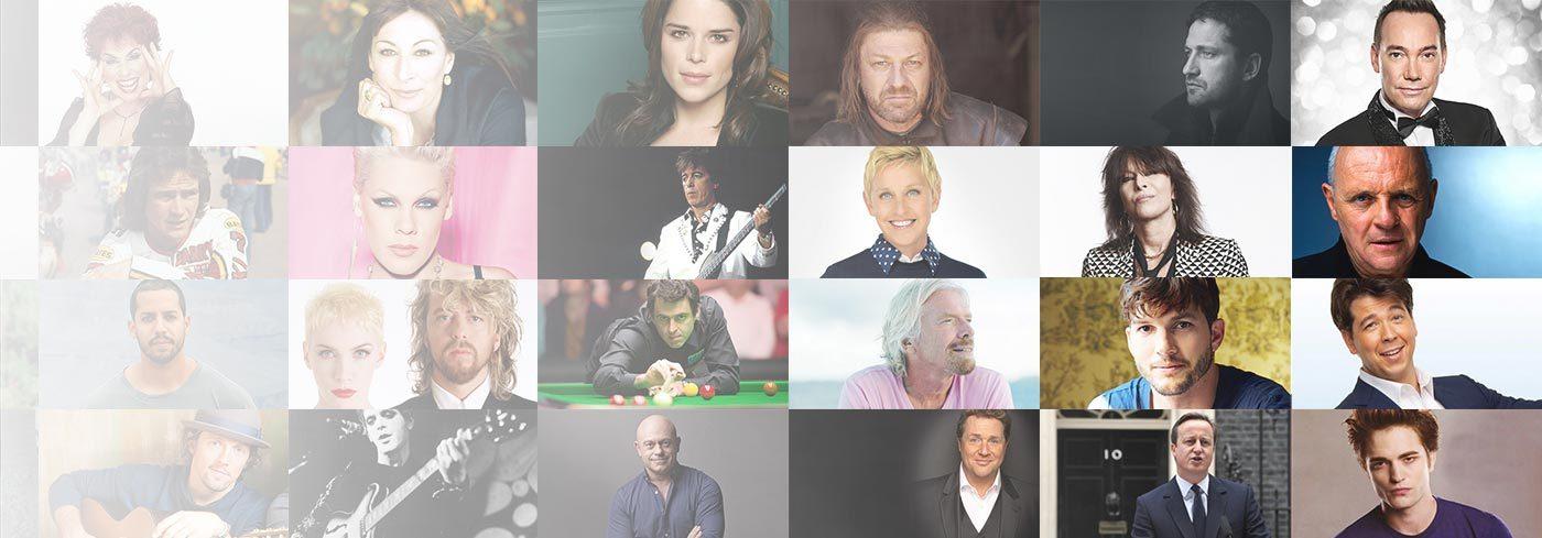 celebrities freed by allencarr's easyway desktop