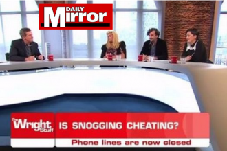 matthew wright of the wright stuff quits smoking with Allen Carrs easyway