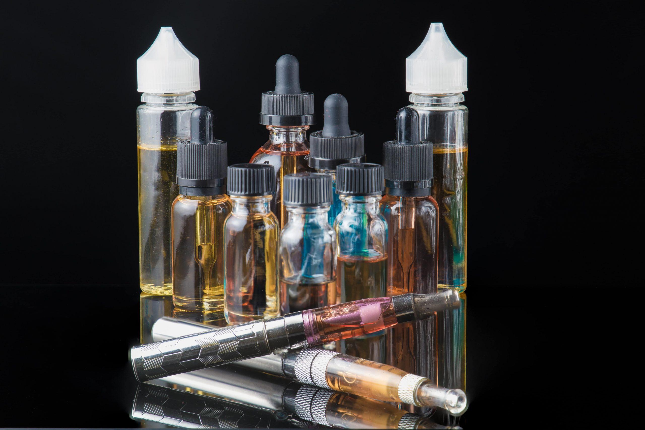 What happens when you vape an E-Cigarette?